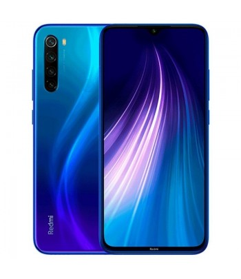 CEL XIAOMI REDMI NOTE 8  64GB AZUL  GLOBAL .
