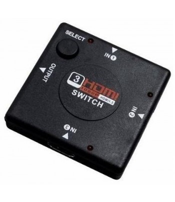SWITCH HDMI 3 X 1 SATEL A-HD06  .