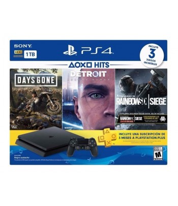 GAME PS4 1TB 2215B 3 JGS (DAYS GONE/RAINB/DETROIT)