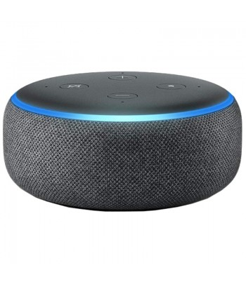 SPEAKER AMAZON ECHO DOT 3a GERACAO ALEXA PRETO