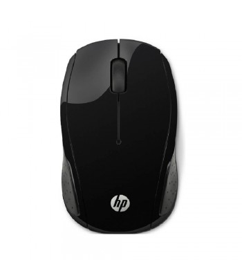 MOUSE WIRE HP 200 X6W31AA-ABL PRETO.