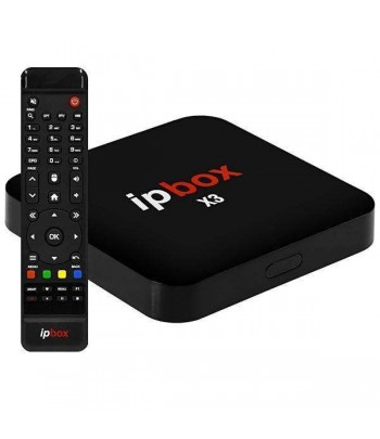 RECEPTOR DIGITAL IPBOX  X3  4K IPTV F.T.A