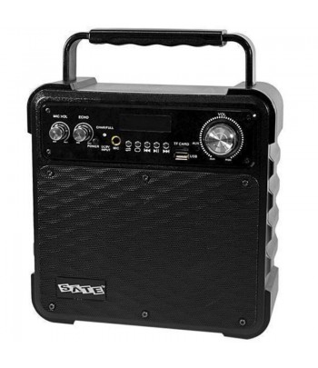 SPEAKER PORTATIL  5.5'' SATEL AS-362 PRETO 1MIC.