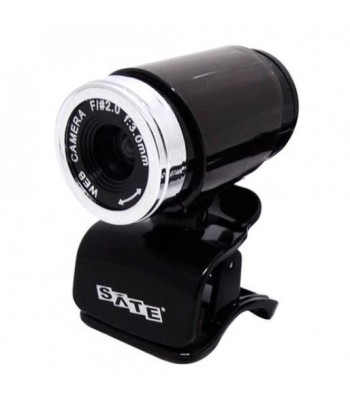 WEBCAM SATEL WB-C25  W10 PRETO