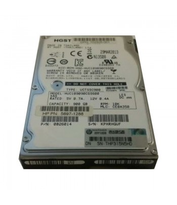 HD SAS  900GB HP 10K 6G PN:...