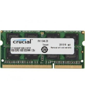 MEM NB DDR3L 1600  8GB CRUCIAL .