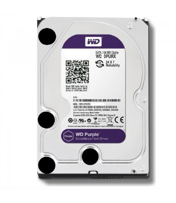 HD SATA3  3TB WD WD30PURZ 5400 SURVEILLAN PURPLE