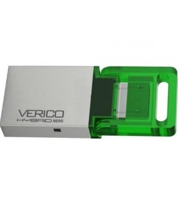 PENDRIVE  16GB VERICO HYBRID MINI GREEN ANDRO CEL@