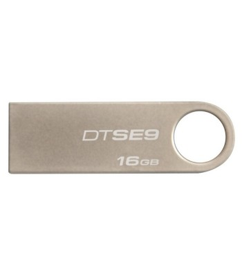 PENDRIVE  16GB KINGSTON DTSE9H METAL PRATA