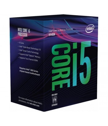 CPU INTEL i5-9400F 2.90GHZ 9MB 1151 BOX  9no GERA.