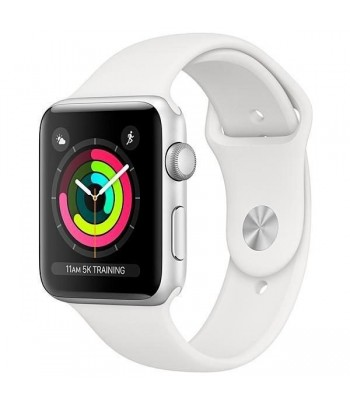 APPLE WATCH S3 42MM MTF22CL/A SILVER WHITE .