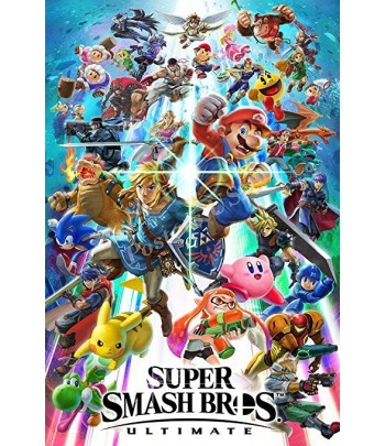 GAME NINTENDO JOGO SUPER SMASH BROS ULTIMATE