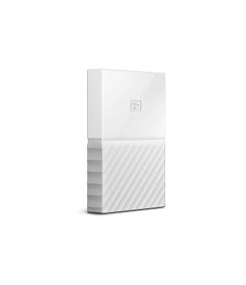 HD EXT  1TB WD MY PASSPORT 2.5'' USB2.0 BRANCO