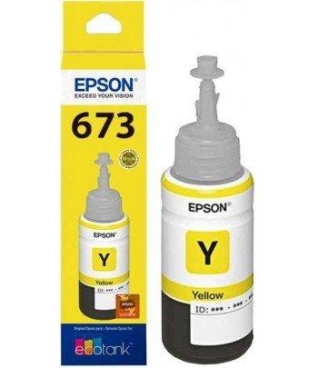 TINTA EPSON T673420 AMARELO L800/L850 70ML (IVA)